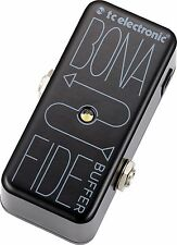 New TC Electronic Bonafide Buffer Analog Buffer Guitar Effects Pedal!!