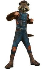 Rubie's Official Avengers Endgame Rocket Raccoon Deluxe Child Costume Age 5-7
