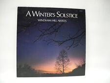 Windham Hill Artists - A Winter's Solstice Vinyl LP Record Album WH-91045