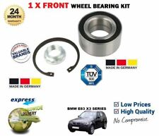 FOR BMW X3 + XDRIVE E83 SERIES 2004-> NEW 1X FRONT WHEEL BEARING KIT