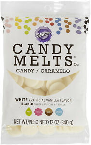 Candy Melts Flavored 12oz-White, Vanilla