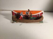Vintage Herald Britains flotante Modelos Canoa India número 4501 menta en tarjeta