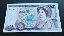 More details for rare 1970's j b page £20 bank note first series a69 in used condition