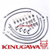 Kinugawa For Nissan RB26DETT Skyline GTR Twin Turbo Oil & Water Line/Stock TB25