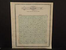 North Dakota Bottineau County Map Brander Township  1910 Q6#69