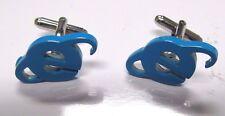 Blue Computer Internet Novelty cufflinks