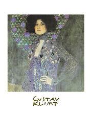 Gustav Klimt Poster Kunstdruck Bild Offsetdruck Emile Flöge 30x24 cm Portofrei
