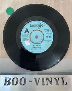 "LITTLE RICHARD-SHE'S TOGETHER RARE DEMO 7"" VINYL RECORD MCA MU 1006 EX"
