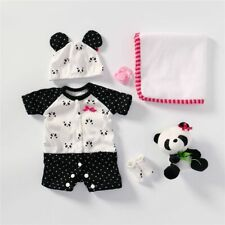 18'' Reborn Baby Doll Soft Clothes Boy Dolls Clothing Outfit Accessories Sets