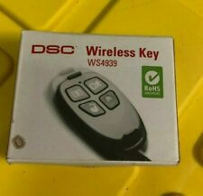 DSC Wireless Key Fob, WS4939, 4 Button Remote,  New, Never Used