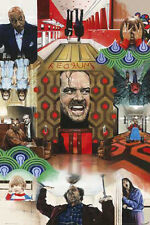 THE SHINING - COLLAGE MOVIE POSTER - 24x36 NICHOLSON KING 51154