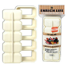 Japanese Sushi Mold Nigiri Rice Bento Maker Press 5 compartment Made in Japan