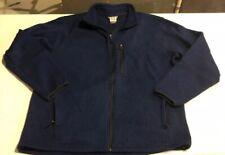Avalanche Outdoor Inspired Apparel Men's Full Zip Blue Jacket Size 2XL XXL
