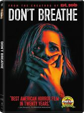 Don't Breathe DVD FREE FIRST CLASS SHIPPING !!!!!
