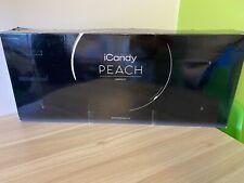 iCandy Peach Phantom 2nd Carrycot Fabric & Bumper Bar - Dove Grey - BNIB