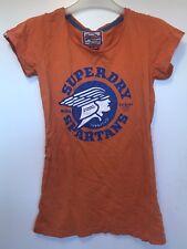Superdry 'spartans' Orange T Shirt - Size S