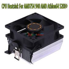 Silent CPU Cooling Fan Heatsink Radiator Cooler for AMD754 939 940 AMD Athlon64
