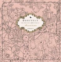 Menuet de Bonheur Coloring Book Flip Through Happiness of Minuet Edition Rhapsod