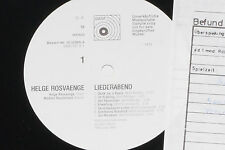 HELGE ROSVAENGE -Liederabend- LP 1975 BASF Promo Archiv-Copy mint