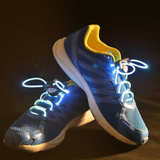 Shoe Laces Light Up Fiber Optic Led Shoelaces Neon Glow In The Dark Stick