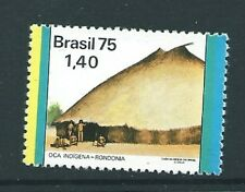 BRAZIL SG1536 1975 $1.40 MODERN ARCHITECTURE (YELLOW TO LEFT)  MNH