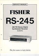 Fisher-rs-245 - Service Manual-Schéma pour émetteur-b6939