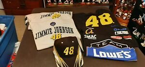 Jimmie Johnson 1 Hat And 4 Tshirts