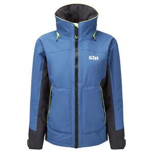 GILL Women's OS32 Coastal Jacket in Ocean Blue