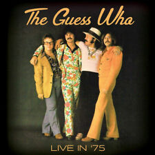 CD - The Guess Who : Live in 75 CD (2018)  NEW   Dominic Troiano