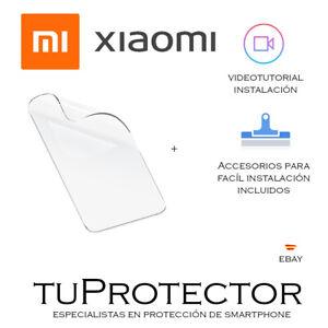 🔒 Protector de Pantalla para todos los XIAOMI en HIDROGEL PREMIUM 🔒 +TUTORIAL