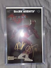 BATMAN THE RED DEATH #1 NM NYCC Foil Variant, Signed by Williamson & Snyder.