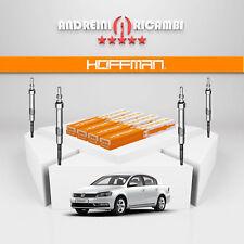 KIT 4 CANDELETTE VW PASSAT VII 362 1.6 TDI 77KW 105CV 2012 -> GE115