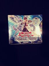 Legendary Duelists White Dragon Abyss Booster Box Yugioh