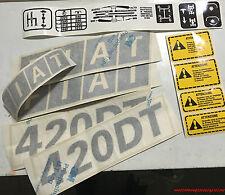 Serie Decacolmania-Adesivi Per trattore Fiat 420 DTH....