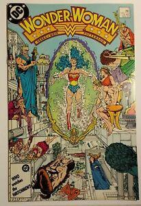 Wonder Woman 7 NM 9.4 1987 / George Perez / 1st app Barbara Minerva (Cheetah)