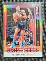 2019-20 Panini NBA Hoops Action Shots #3 Russell Westbrook - Houston Rockets