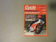 SEPTEMBER 1982 CYCLE MAGAZINE,YAMAHA XT550J,KAWA/BIMOTA KB2,KAWASAKI KZ750N,AMA