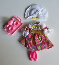 Stacie Doll Cute 1994 Tea Party Fashion Outfit and Pink Tea Set Barbie Sister