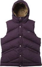 SUPREME Hooded Down Vest Plum Purple L box logo hoodie safari comme F/W 12 camp