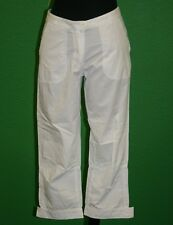 PETIT BATEAU Women's White Pants 71488 Sz 14 Years S NEW $113