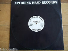 "DEAD BEATS - WAY OF THE XPLODING LOOP 12"" RECORD / VINYL - XPLODING HEAD RECORDS"