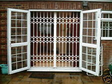 SECURITY GRILLES - sliding / folding / collapsible - home windows or doors