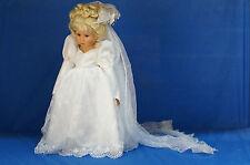 "Cinderella Wedding Gown 18"" Doll LE 250 Disney COA Signed & Numbered Linda Rick"