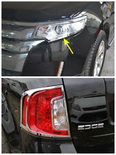 Ford Edge 2011 2012 2013 Chrome Front + Rear Light Lamp Cover Trim New