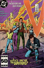 V the series #9 comic 1985 Visitors are our Friends