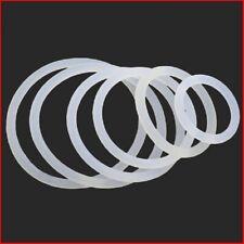 White Plastic Nylon O-Ring Rubber Seals Gasket - M10 M12 M16 M20 M25 M30 M35 M40