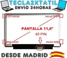 "PANTALLA 11,6 "" LG Philips LP116WH2(TL)(C1) TLC1 LCD LED WXGA 1366x768 HD 40 pin"