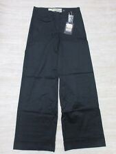 NEW Da-Nang Women's Casual Pants Gaucho Side Pockets BLACK CSS1915 Size: 2