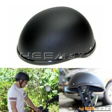 New model Half Helmet Motorcycle Open Face Biker Novelty Helmet Matt Black