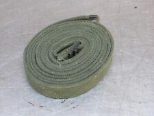 Strap * OD Cotton Webbing Universal NOS Military Tent Vehicle Equipment (B42)